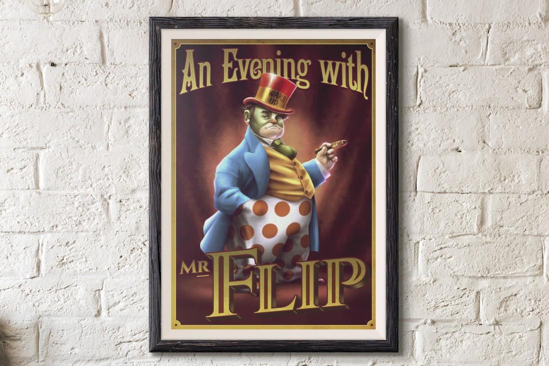 Poster-Flip